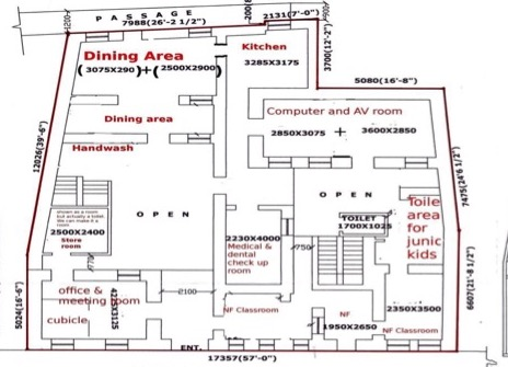 Floorplans new ed centre